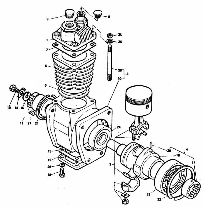 Compressor T 40 A29 02 000 Compressor T 40